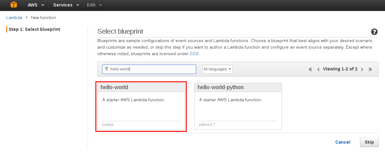 Getting Started with AWS Lambda REST Services Part 1 of 3